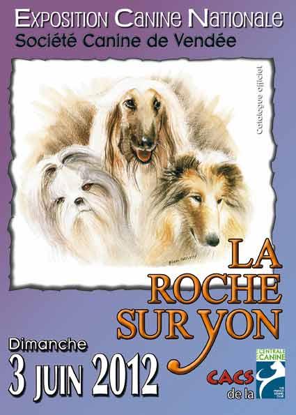 Exposition canine La Roche sur Yon 2012