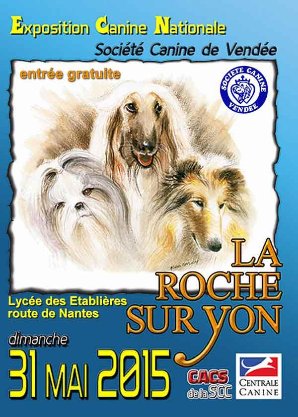 exposition canine nationale La Roche sur Yon 2015