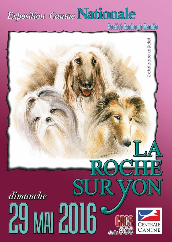 exposition canine La Roche sur Yon 2016